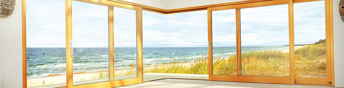 Classic Stamford - Sliding Doors made from Composite, Aluminium and Wood