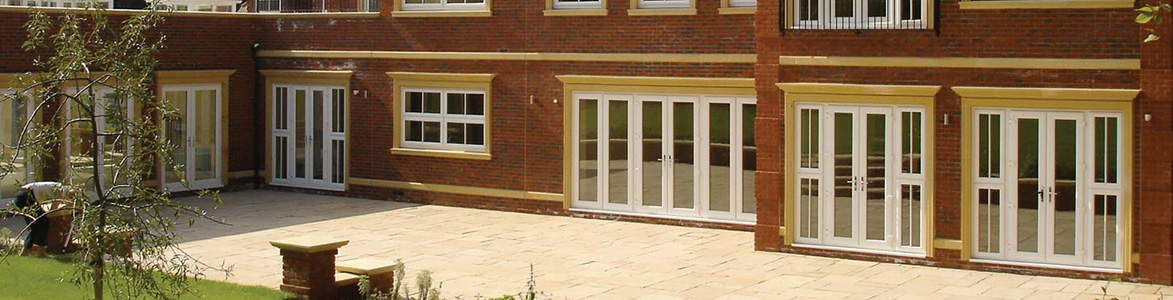 Classic Stamford - French Doors made from Composite, Aluminium and Wood