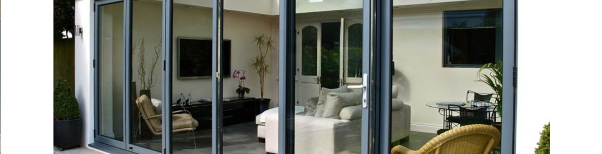Classic Stamford - Bi-Fold Doors made from PVCu, Aluminium and Wood
