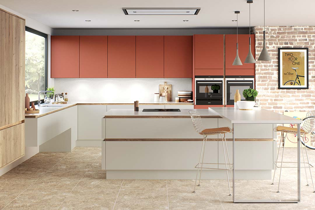 H-Line Handleless Kitchens by Classic Stamford