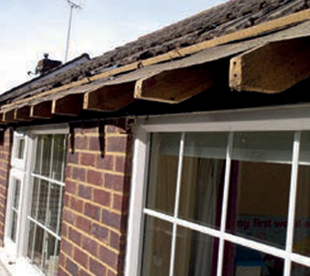 During Roofline by Classic Stamford