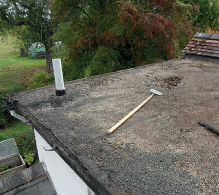 Before Firestone RubberRoof by Classic Stamford